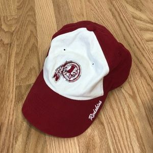 Washington Redskins Sequin Red White Hat NFL